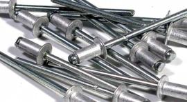 Popnagels 4x12mm 50 stuks Aluminium