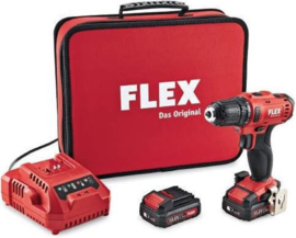 Flex DD2G 10.8-LD 10.8V Li-Ion accu boor-/schroefmachine set (2x 2.5Ah accu) in tas