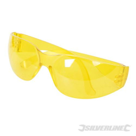 Veiligheidsbril, UV bescherming Geel van kleur