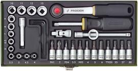 Proxxon 36 Delige 1/4 doppendoos 23080