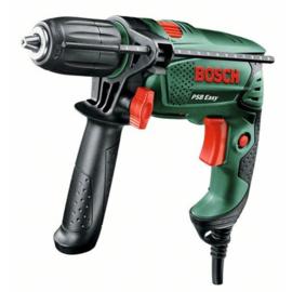 Bosch PSB 550 RE Links+Rechtsdraaiend klopboor snel spankop koffer