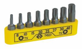 CK t4523 Schroevendraaier-bits set voor torxschroeven