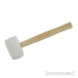 Witte rubber hamer 454 gram