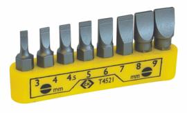 C K-bits Clip gleuf set van 3 -8 – t4521
