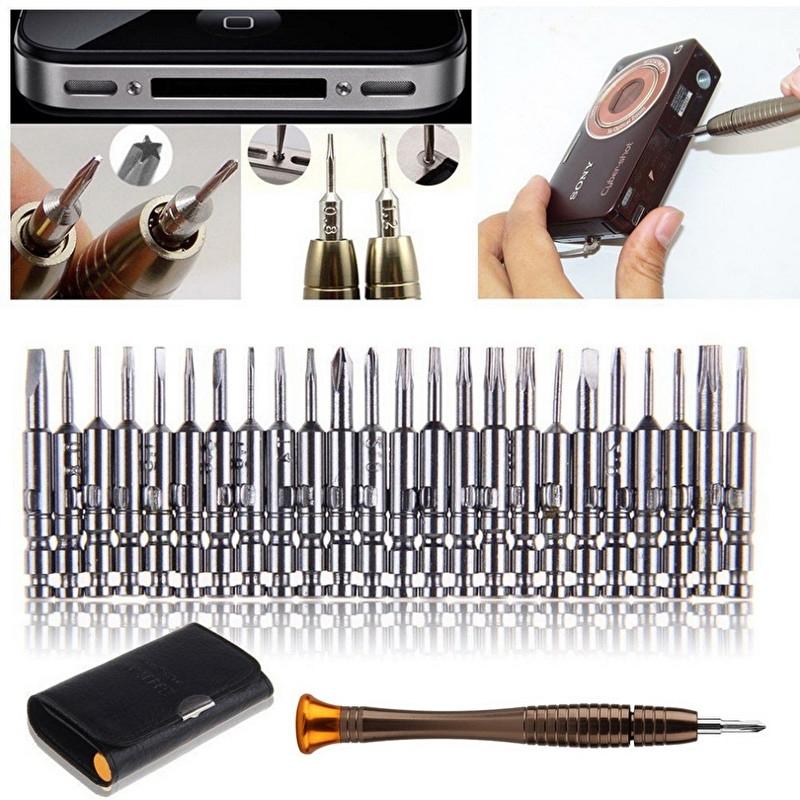 Torx - schroeverdraaier Reparatie Set 25 delig voor bv iPhone
