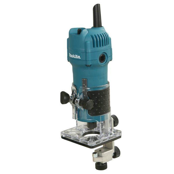Makita 3709 kantenfrees - 530W - 6mm