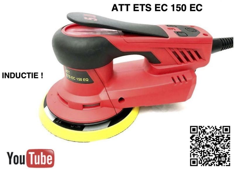 ATT ETS EC 150/EQ5 Exentrische schuurmachine met inductie motor ! (prijsdoorbraak)