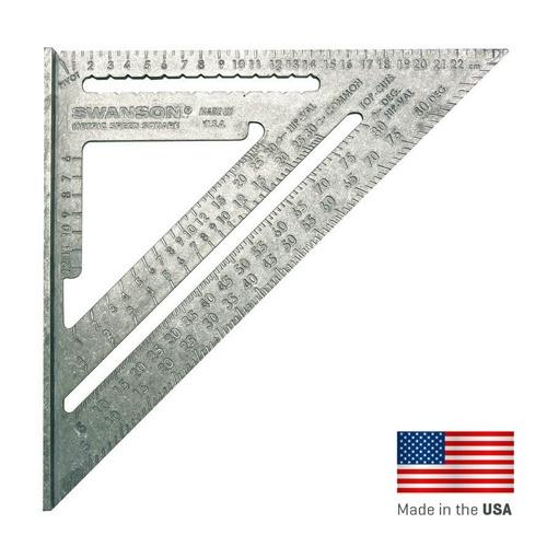Swanson Speedsquare metrische winkelhaak 25 cm