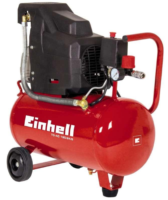 Einhell TC-AC 190/24/8 Compressor - 1500W - 8 bar - 24L - 4007325