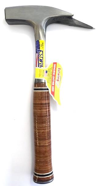 Estwing Punt - Lat - Steiger hamer  LEDER
