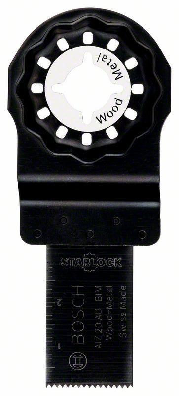 Bosch BIM invalzaagblad AIZ 20 AB Wood and Metal 20 x 30 mm PAST OP FEIN !