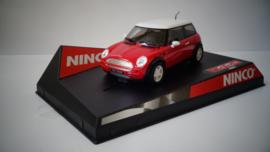 Ninco Mini Cooper Rood nr.50275 in OVP*. Nieuw!