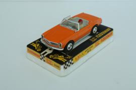 Fleischmann Auto-Rallye. Mercedes 280SL oranje nr. 3260 in OVP.