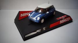 Ninco Mini Cooper Blauw nr.50276 in OVP*. Nieuw!