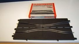 Fleischmann Auto-Rallye.  Chicane 3121.    set  in OVP grijs
