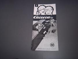 Carrera handleidingen, folders & catalogi
