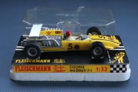 Fleischmann Auto-Rallye. Cooper Maserati F1 geel nr. 3205  OVP