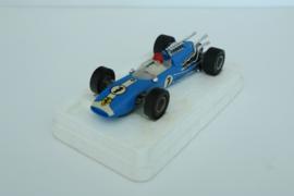 Fleischmann Auto-Rallye. Ferrari blauw 24-spaaks nr. 3201 in OVP.