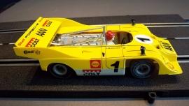 Fleischmann Auto-Rallye. Porsche Can-AM 917 geel  nr. 3202