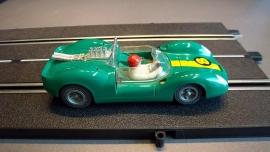 Fleischmann Auto-Rallye. Ford Lotus groen nr. 3210