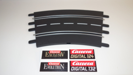Carrera ExclusiV/Evolution/Digital  bocht 2/30⁰  nr. 20572.   4*