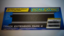 Scalextric Sport  nr. C8205   set 4 x recht lang B in OVP