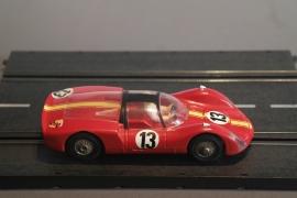 Märklin Sprint.  Porsche Carrera 6 rood nr. 1305