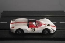 Märklin Sprint.  Porsche Carrera 6  wit nr. 1302