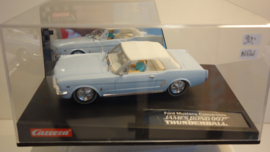 Carrera Evolution Ford Mustang Convertible JAMES BOND 007 THUNDERBALL nr. 25738 in OVP.