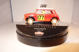 SCX Mini Cooper 1275S rood/wit.  Limited Edition Box ref: 60730.  Nieuw in OVP.