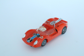 Fleischmann Auto-Rallye. Ford Lotus oranje nr. 3210 Caltex logo