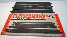 Fleischmann Auto-Rallye. Aansluitbaanstuk met rondenteller 3117.  in  OVP grijs