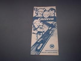 Blauw/wit handleiding.          -  nr. 3.  Duits