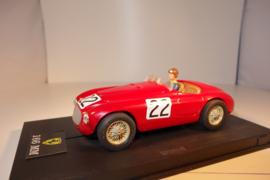 Ninco Ferrari 166 MM.  Donker-rood.    Nr. 50116 in OVP. Nieuw!