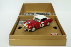 Scalextric MGB 50th Anniversary Limited Edition nr.C3270A in OVP*. Nieuw!
