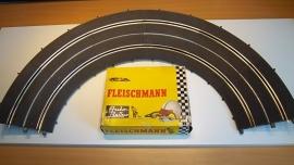 Fleischmann Auto-Rallye.  Kuipbocht 3151.     set in OVP geel
