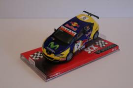 SCX Seat Leon WTCC Red Bull ''Gene'' ref: 62090.  Nieuw in OVP.*