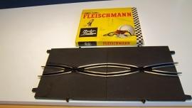 Fleischmann Auto-Rallye.  Baanwissel 3123.    set in OVP geel