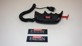 Carrera Evolution analoge regelaar zwart met krulsnoer. nr. 20709