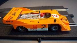 Fleischmann Auto-Rallye. Porsche Can-AM 917  oranje  nr. 3203