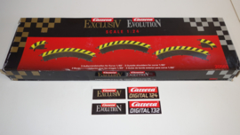 Carrera ExclusiV/Evolution/Digital OVP met 3 x slipstrook 1/60 nr. 20561