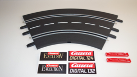 Carrera ExclusiV/ Evolution/ Digitalbocht 1/60⁰  nr. 20571.    3*