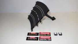 Carrera ExclusiV/Evolution/Digital los Kuipbochtdeel   2/30⁰  nr. 20575.  4*
