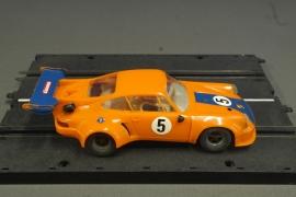 Porsche 911 RSR   nr. 40451 . oranje/blauw