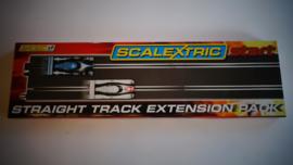 Scalextric Start  2 x lange rechte baandelen C8527.  Nieuw in OVP