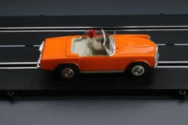 Fleischmann Auto-Rallye. Mercedes 280 SL  oranje   nr. 3260