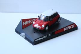 Ninco Mini Cooper Rood nr. 50275 in OVP.
