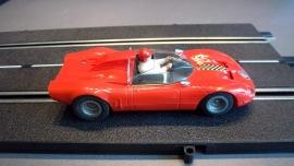 Fleischmann Auto-Rallye. Alfa Romeo rood nr. 3211