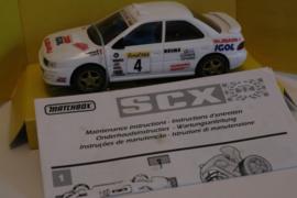 SCX Subaru Imprezza ''Igol'' ref: 83580. Nieuw in OVP.*