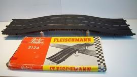 Fleischmann Auto-Rallye.  set Brugdelen 3124. in OVP geel
